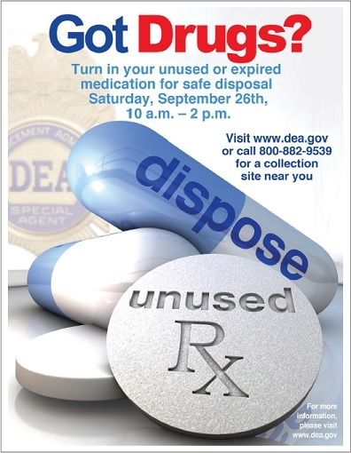 DEA Take-Back Flyer