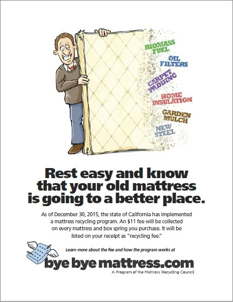 Bye Bye Mattress Flyer
