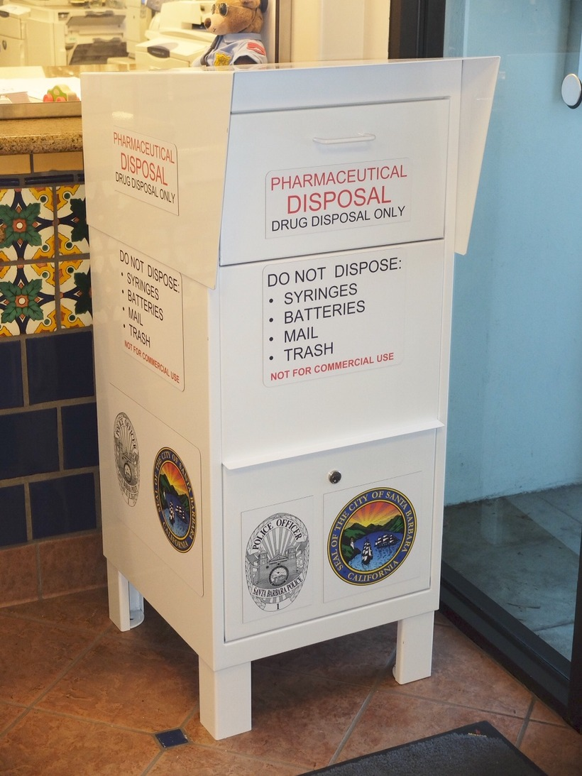 SBPD Drug Disposal Box
