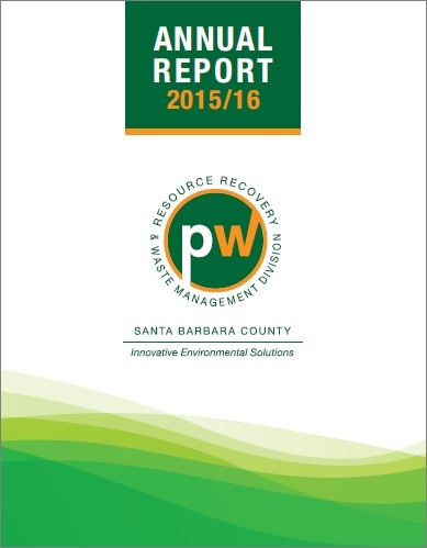 RRWM Annual Report FY 2016 Cover