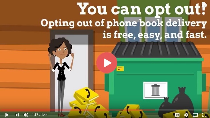 Phone Book Opt Out Video