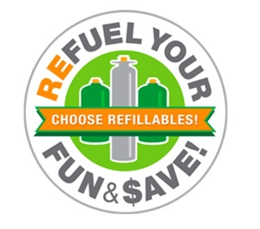 Refuel Your Fun Logo