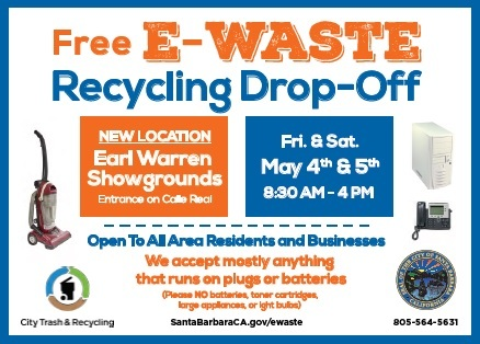 City Of Santa Barbara E Waste Collection Event Less Is More