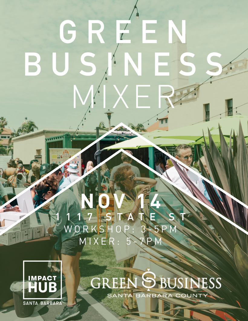 Green Biz Workshop Flyer 11.14.18